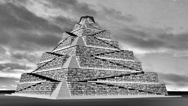 Une nouvelle hypothèse de construction des pyramides à faces lisses de l'Ancien Empire d'Egypte | Égypt-actus | Scoop.it