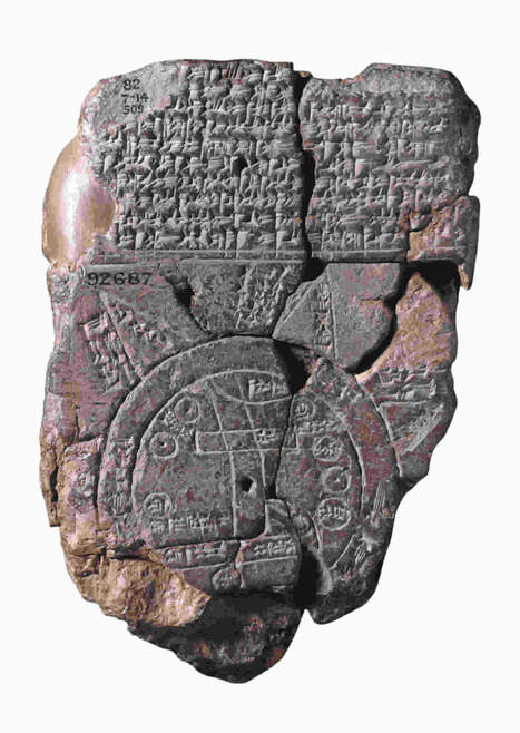 Babylonian Map: 600 bc | History & Maps | Scoop.it
