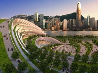 Green Roofs Are Changing Architecture: Kowloon Rail Terminus | Top CAD Experts updates | Scoop.it