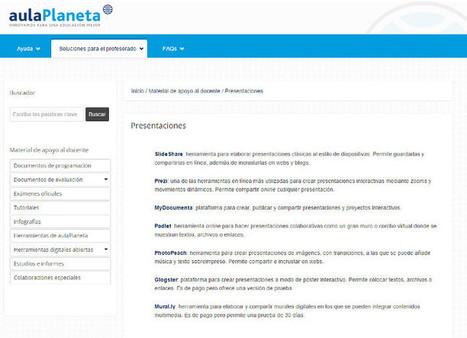 aulaPlaneta lanza un Manual de Ayuda al Profesor con ideas para innovar y herramientas para preparar las clases - aulaPlaneta | Educacion, ecologia y TIC | Scoop.it