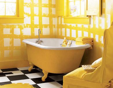 Fotos e ideas para pintar los azulejos del baño. | Helene Michau Créations | Scoop.it