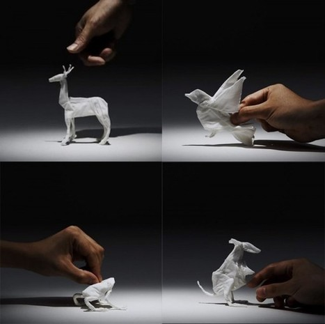 Tissue Animals, Paper Stop Motion for Nepia | Food for Pets | Scoop.it