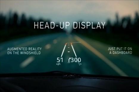 Navegación GPS por realidad aumentada sobre tu parabrisas | Ciencia y Tecnologia. Fundación Momo | Scoop.it