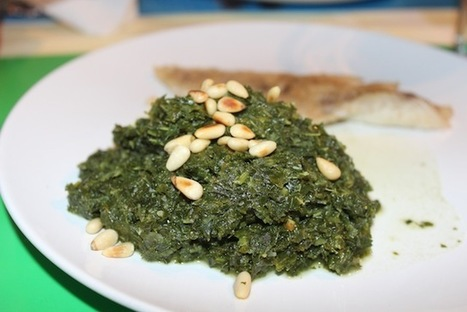Kale with Pine Nuts and Codfish | Gardening is more than Digging the Dirt | Scoop.it