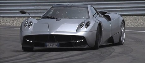 Chris Harris on track with Pagani Huayra for Grid 2 - Autoblog | Luxury Cars | Scoop.it