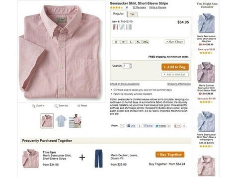 10 excellent ecommerce product pages | Digital Love | Scoop.it