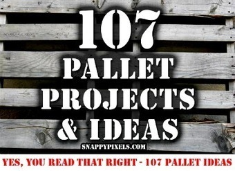 107 Pallet Projects & Ideas | DIY Home Sweet Home | Home | Scoop.it