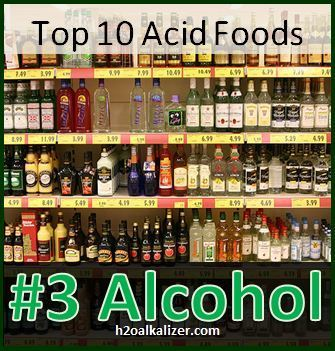 Top 10 Acid Foods: #3 Alcohol--Which alcohol is the healthiest? | The Basic Life | Scoop.it