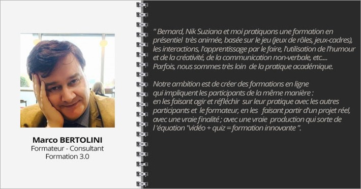 Interview Marco Bertolini #SPOC En Stock | MOOC Francophone | Scoop.it