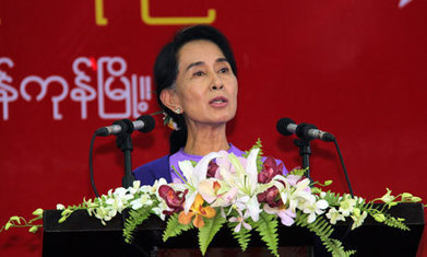 Aung San Suu Kyi re-elected leader of Burma's opposition party | Children of the Mekong | Scoop.it