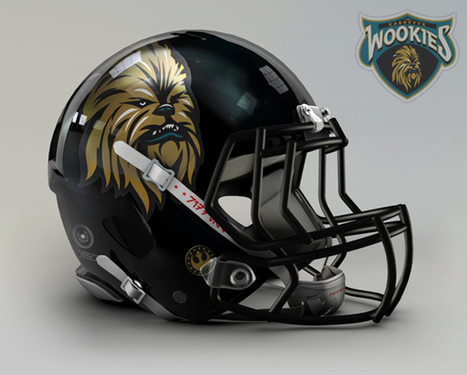 Geek out over these Star Wars-themed football helmets | GeekThis | Scoop.it