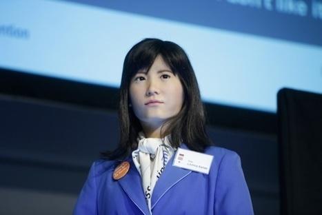 Chihira Kanae, un humanoïde robolutionnaire répond aux voyageurs | Web 2.0 et société | Scoop.it