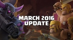 Clash of Clans March 2016 Update: The Balance! | Clash of Clans Tips | Scoop.it