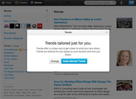 Les tendances Twitter adaptées à vos goûts ! | Social Media Curation par Mon Habitat Web | Scoop.it