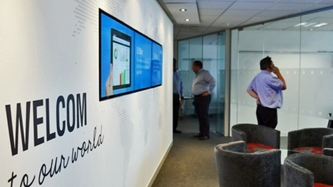 Maximize productivity and motivation in the workplace with digital signage | Digital Signage by Worldlink | Scoop.it