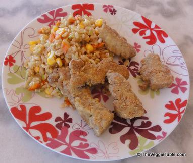 Cornmeal-Crusted Seitan | Vegetarianism | Scoop.it