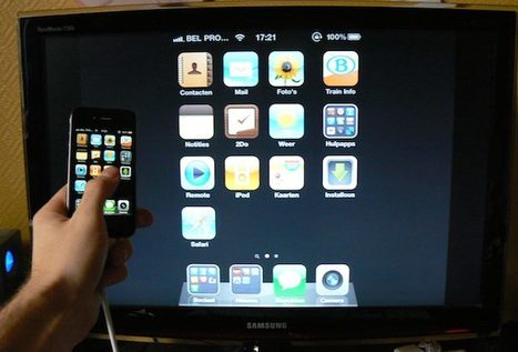 Enable Video Mirroring on iPad 1 and iPhone 4 with a Simple Hack | iPads  For Instruction | Scoop.it