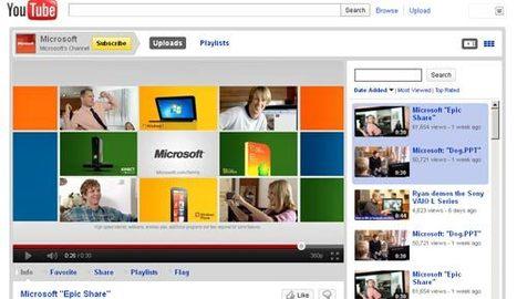 Hackean la cuenta de Microsoft en Youtube | Aspectos Legales de las Tecnologías de Información | Scoop.it