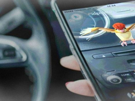 Pokémon Go au volant de votre voiture : vous risquez l'accident, le PV et le retrait de 3 points de permis | Droit | Scoop.it