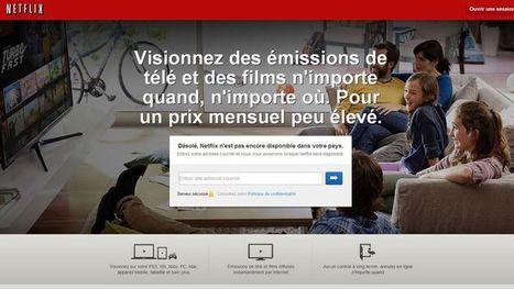 Netflix : pourquoi en parle-t-on autant en France? | Revue des médias | Scoop.it
