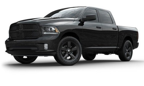 Official: 2013 Ram 1500 Black Express is midnight in the garden of good and evil [UPDATE] | Toyota Tacoma | Scoop.it