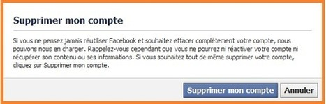 Facebook: Supprimer son compte | Facebook Mode d'emploi | Scoop.it