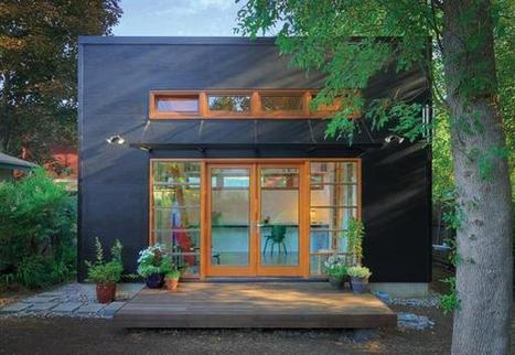 Space-Savvy Sustainable Design for a Live-Work Studio... | sustainable architecture | Scoop.it