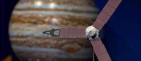 Autour de Jupiter, la mission d'exploration Juno va commencer ! | The Blog's Revue by OlivierSC | Scoop.it