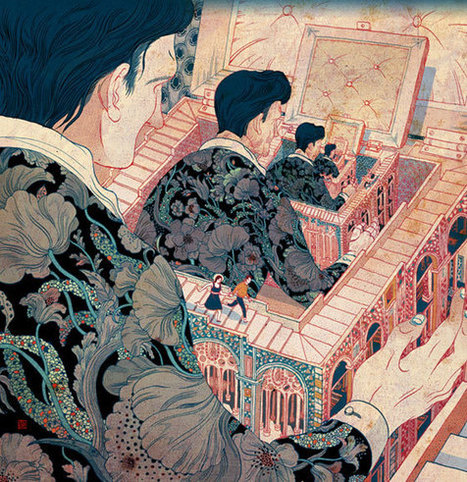 Juxtapoz Magazine - SUPERSONIC INTERVIEWS: Victo Ngai | Social Media, Crypto-Currency, Security & Finance | Scoop.it
