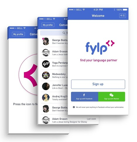FYLP - Find your language learning partner - app | Technology and language learning | Scoop.it