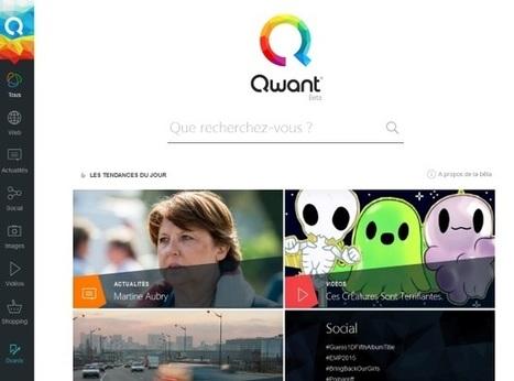 Qwant, moteur de recherche à la française, fait peau neuve | INFORMATIQUE 2015 | Scoop.it