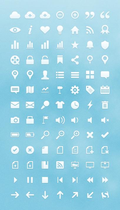 Freebie: Free Vector Web Icons (91 Icons) - Smashing Magazine | Coding (HTML5, CSS3, Javascript, jQuery ...) | Scoop.it