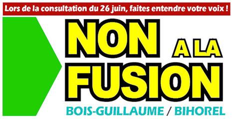 Fusion : le 26 juin, pour moi, c'est NON ! - Ministère pour un Monde Meilleur | Da Rouen et zalentours | Scoop.it