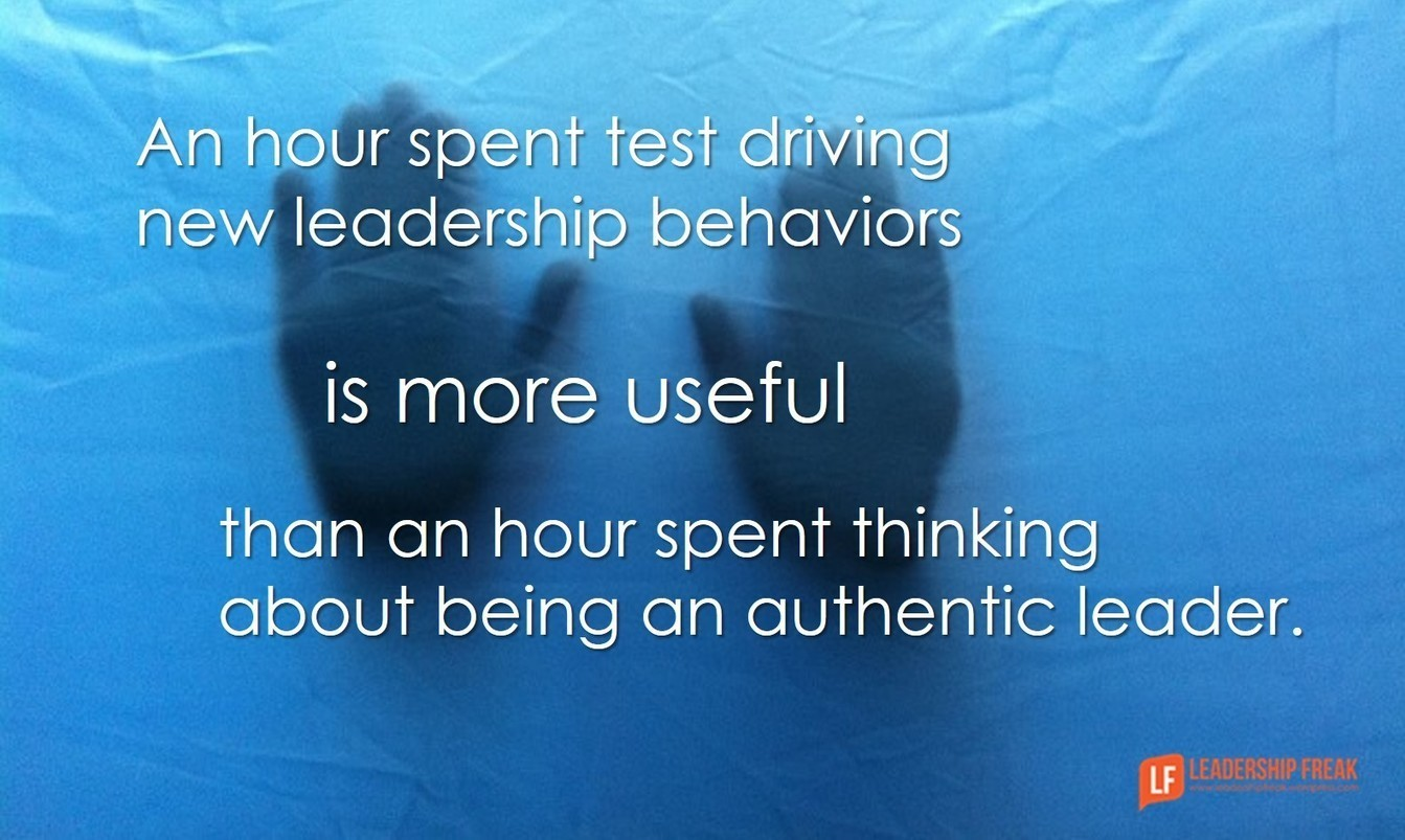 being an authentic leader Every leader should be aware of the privilege that being a leader brings to others and the team by growing yourself authentically, you are providing them with an opportunity to move forward and learn together an authentic leader is a learner, facilitator, mediator, and solution provider, after all.