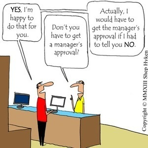 Customer Service Tool: One to Say Yes, Two to Say No | Social Media Today | Social Customer Management | Scoop.it