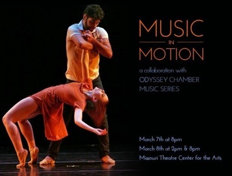 'Music in Motion' to Premiere at Missouri Theatre Center for the Arts - infoZine | OffStage | Scoop.it