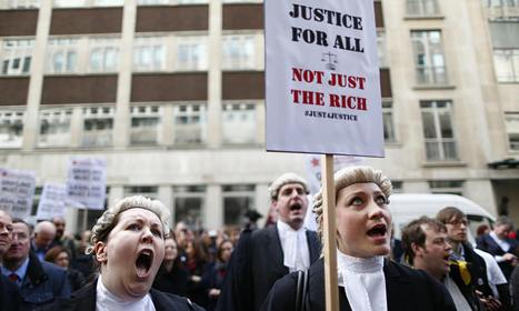 Solicitor advocates squeezing out barristers, Jeffrey Review warns   SocialAction2014   Scoop.it