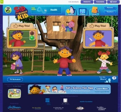 5 Educational Websites for Kids   Education Resources   Scoop.it