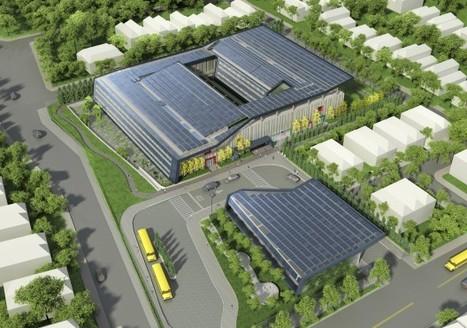 SOM breaks ground on New York's First Net Zero Energy School | Sustainable Architecture + Construction | Scoop.it