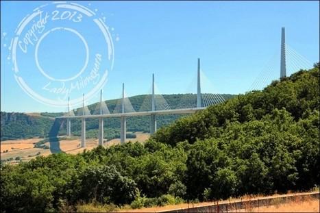 Le temps d'une halte sur l'aire du viaduc de Millau   Talons hauts & sac à dos   Scoop.it