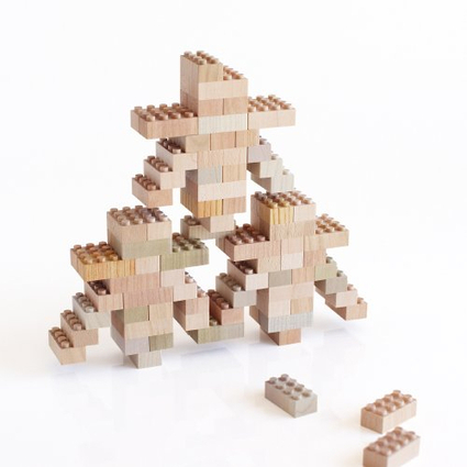 Mokulock Wood Bricks:   The Natural LEGOs | Heron | Scoop.it