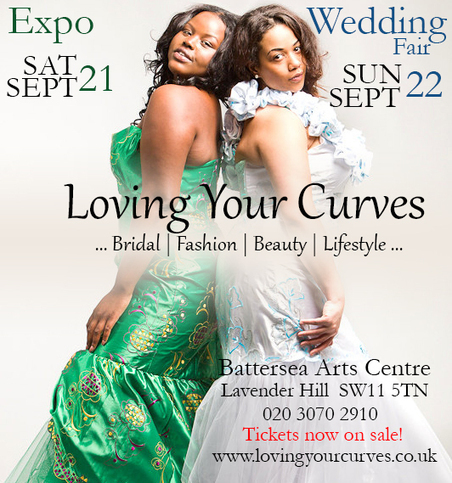 Loving Your Curves - UK's First Plus Size Bridal Exhibition - AfroCosmopolitan | More News! | Scoop.it
