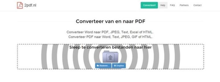 Edu-Curator: 2pdf.nl converteert Word-bestanden naar PDF, JPEG, Text, Excel of HTML of PDF-bestanden naar Word, Text, JPEG, GIF of HTML | Educatief Internet - Gespot op 't Web | Scoop.it