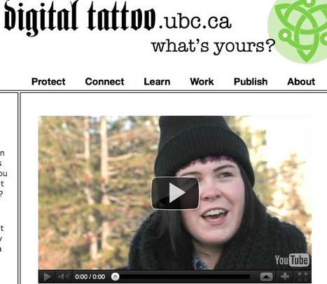 Digital Tattoo | Education in Our Time | Scoop.it
