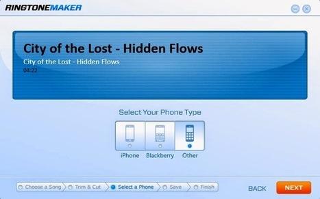 RingTone Maker : Κόψτε στα μέτρα σας το αγαπημένο σας τραγούδι για το κινητό σας τηλέφωνο | Εργαλεία για το διαδίκτυο & το σχολείο     Internet tools - School tools | Scoop.it