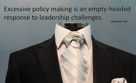 Fewer Policies - More Conversations | The Heart of Leadership | Scoop.it