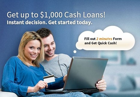 The Benefits Option Getting Online Instant Cash Loans | No Credit Check Loans Australia | Scoop.it