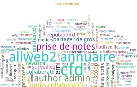 GoogleMii. Votre identite numerique en nuage de tags | Collection d'outils : Web 2.0, libres, gratuits et autres... | Scoop.it