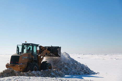 A first sign of spring: Muskegon city road crews clear winter's worth of snow from Beach Street | Lake Effect... Relax, Refresh, Repeat! | Scoop.it