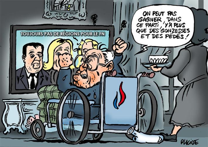 Le FN n'a emporté aucune des régions | Baie d'humour | Scoop.it